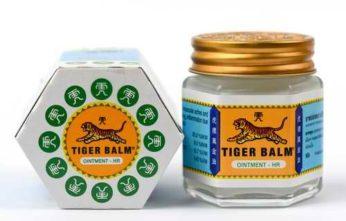 Boite de baume du tigre blanc : soulager les douleurs musculaires