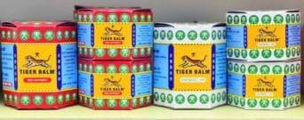 Baume du tigre rouge ou blanc : soulager les douleurs musculaires : deux boites