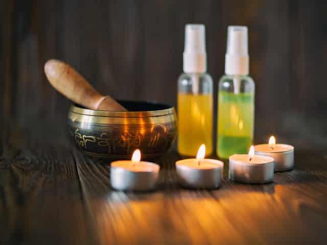 massage ayurvédique relaxation huiles
