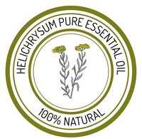 Logo huile essentielle helichryse italienne