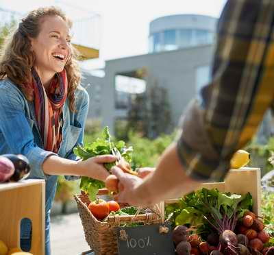 Le régime macrobiotique incite à consommer des produits locaux