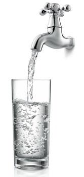 La qualité de l'eau du robinet dépend des régions