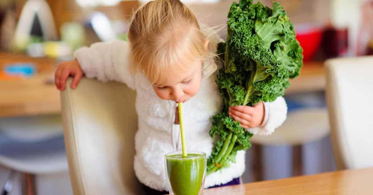 Le jus de légumes et les jus verts