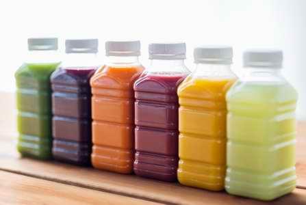 Vous pouvez aussi consommer des jus verts en bouteilles
