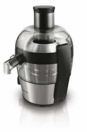La centrifugeuse permet aussi de faire des jus de légumes