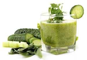 On appelle jus vert un jus confectionné à partir des feuilles vertes des légumes et végétaux