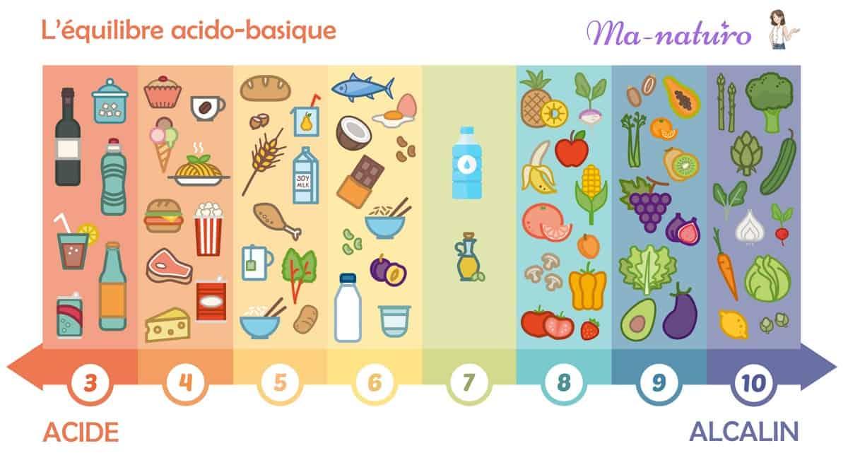 L'équilibre acido-basique et les aliments