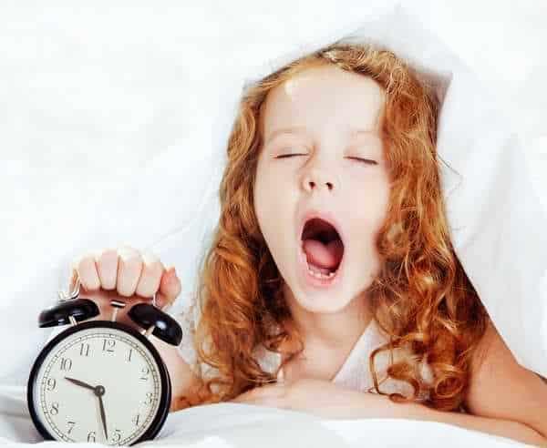 Le rythme de sommeil est très important pour l'enfant
